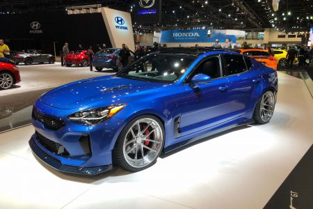 2018 Kia Stinger GT by West Coast Customs: 2018 Chicago Auto Show