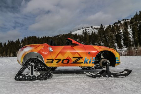 "Nissan 370Zki brings new meaning to ""winter sports"" at 2018 Chicago Auto Show"