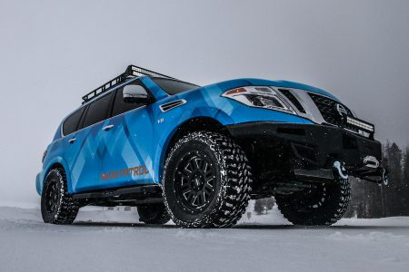 Nissan Armada Snow Patrol debuts at 2018 Chicago Auto Show