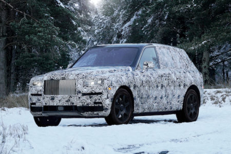 Rolls-Royce Names New Vehicle Cullinan: Pursuit of Perfection