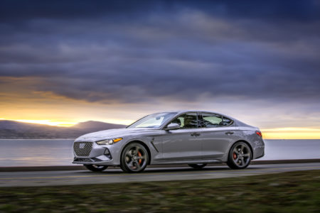 Genesis  Introduces 2019 G70 Luxury Performance Sedan at the 2018 New York International Auto Show