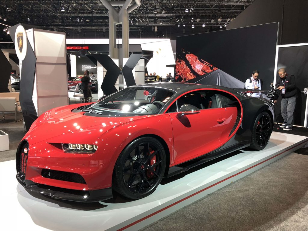 Bugatti Chiron Sport At The 2018 New York International