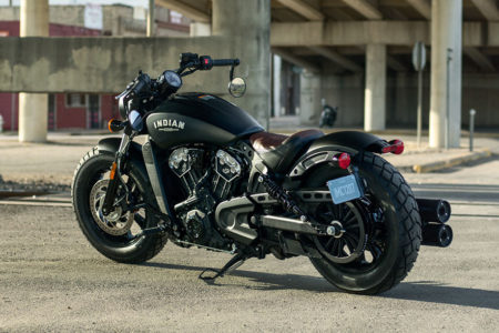 2018 Indian Scout Bobber: A Low Rider Bad-Ass Scout