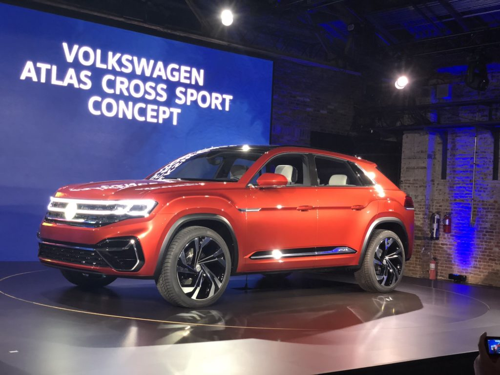 Volkswagen Atlas Cross Sport Concept | AUTOMOTIVE RHYTHMS