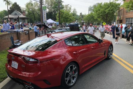 All-New Kia Stinger Visits the 5th Annual Kensington Car Show