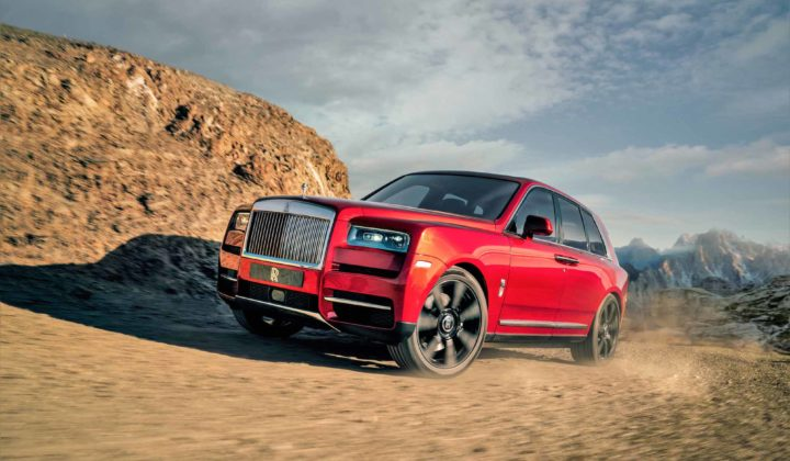 Rolls-Royce Cullinan Ultra Luxurious SUV: Effortless, Everywhere