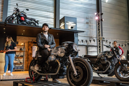 Moto Guzzi V7 III Limited unveiled at Wheels and Waves