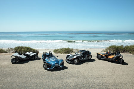 THERE'S FUN ON THE HORIZON AS SLINGSHOT  INTRODUCES ITS 2019 MODEL YEAR LINEUP