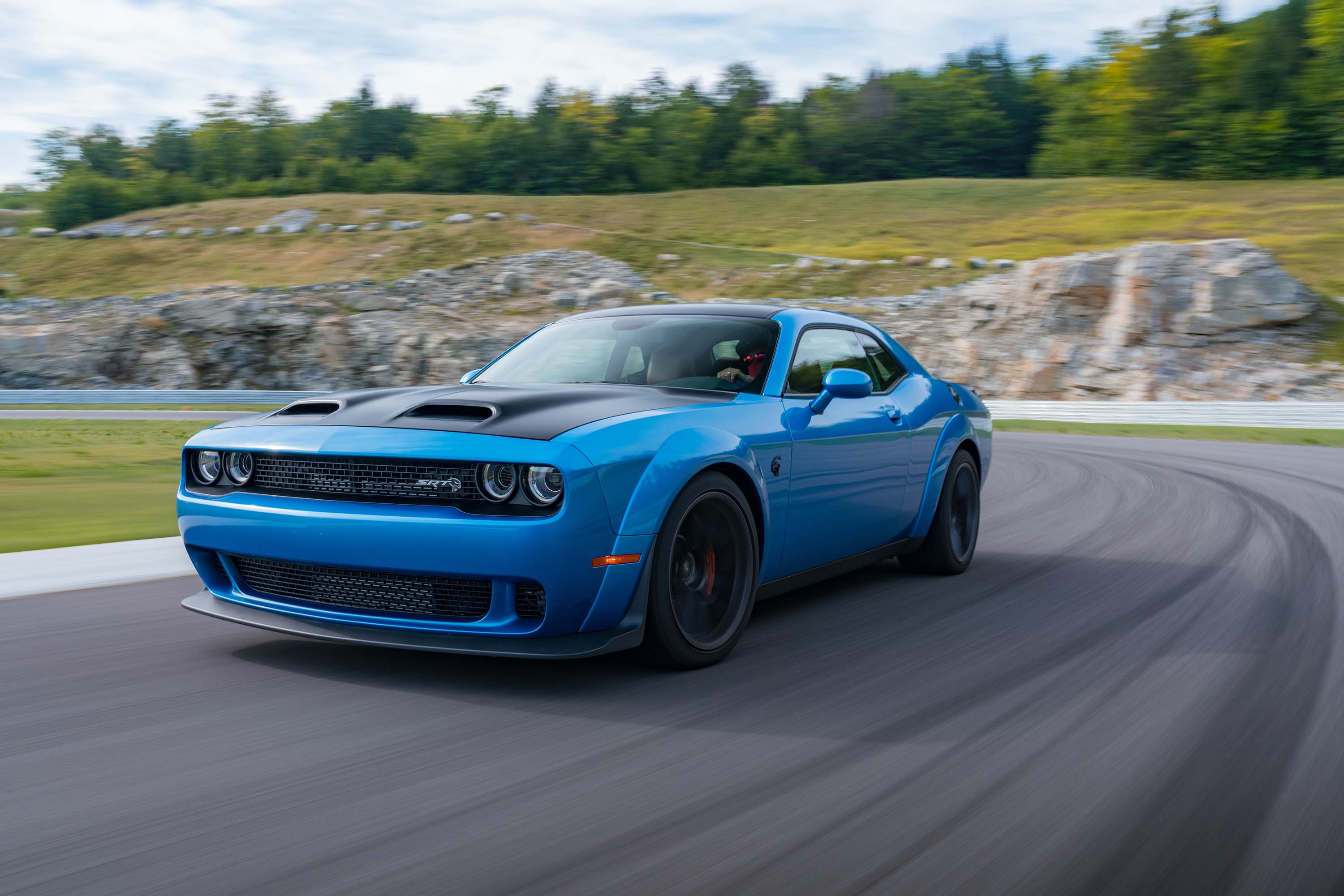 Dodge Challenger Hellcat Car Cover