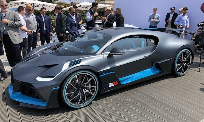 Bugatti Divo World Premiere at The Quail: A Motorsports Gathering 2018