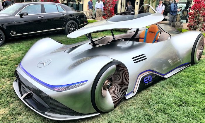 Mercedes-Benz  EQ Silver Arrow Show Car