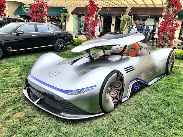Pebble Beach Concours DElegance The Concept Lawn AUTOMOTIVE - Pebble beach car show 2018