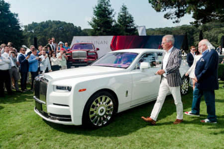ROLLS-ROYCE MOTOR CARS PRESENTS BESPOKE PHANTOM TO COLLECTOR MICHAEL FUX