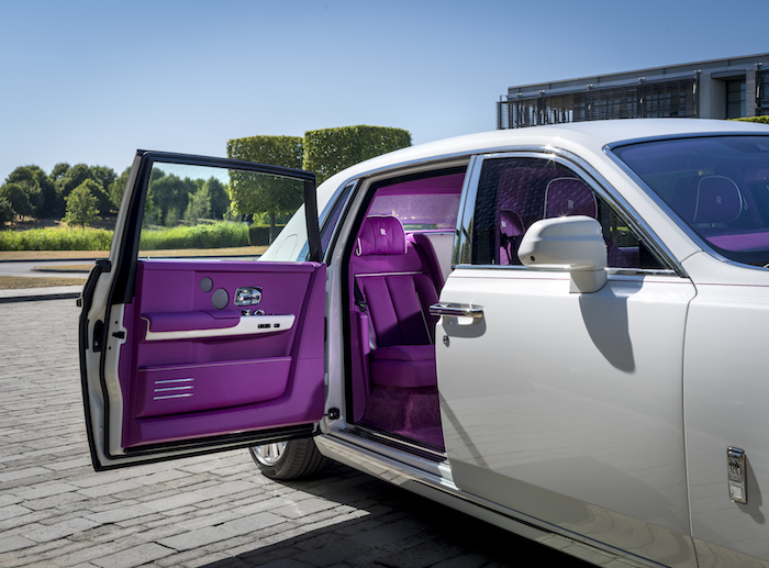 Rolls Royce Wraith 2019 >> ROLLS-ROYCE MOTOR CARS PRESENTS BESPOKE PHANTOM TO COLLECTOR MICHAEL FUX | AUTOMOTIVE RHYTHMS
