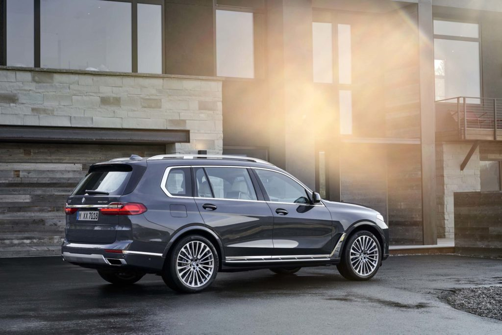 The First Ever 2019 Bmw X7 Sports Activity Vehicle
