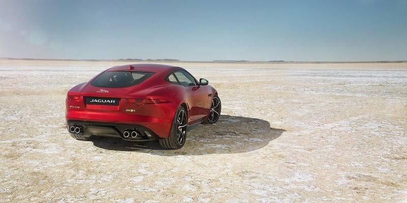 2016-Jaguar-F-TYPE-R-Coupe-Exterior-Rear-Red