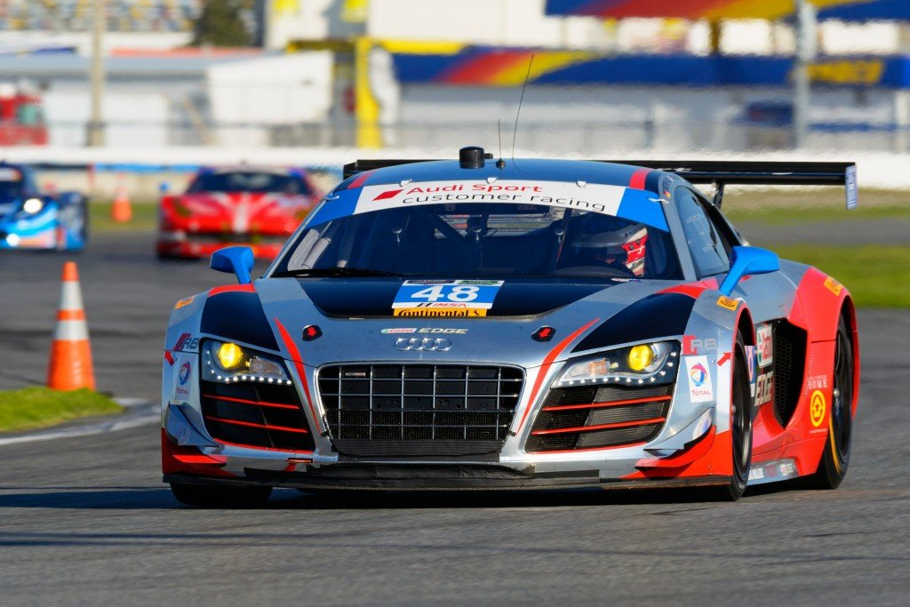 2015-audi-paul-miller-racing-Audi R8 LMS race teams kick-off 2015 season at the Rolex 24 hour race in Daytona