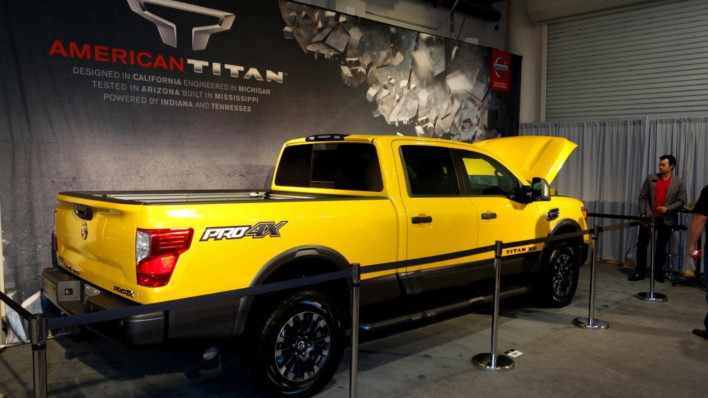 2016 Nissan TITAN XD aims at outdoorsmen, hits target at Shootin