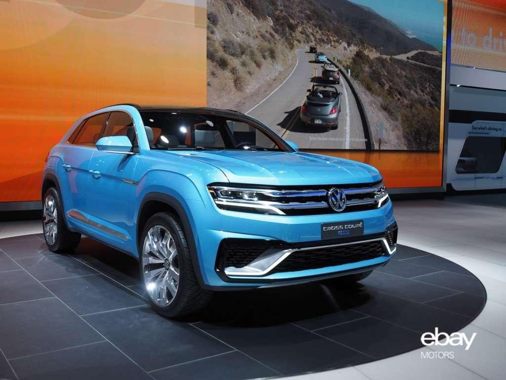 VW Cross Coupé GTE Concept at 2015 NAIAS Detroit