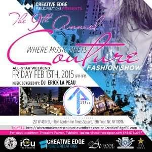 9th Annual Music Meets Couture Fashion Show