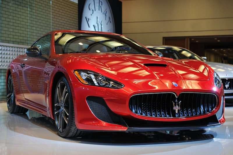 Maserati GranTurismo MC Centennial Edition at CAIS 2015