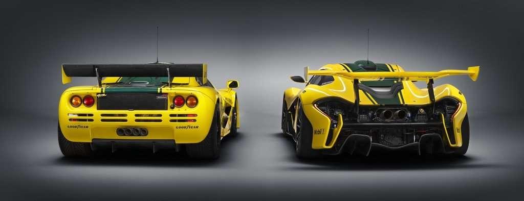McLaren F1 GTR #06R and P1 GTR - rear