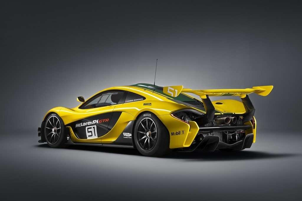 McLaren P1 GTR - rear 3q
