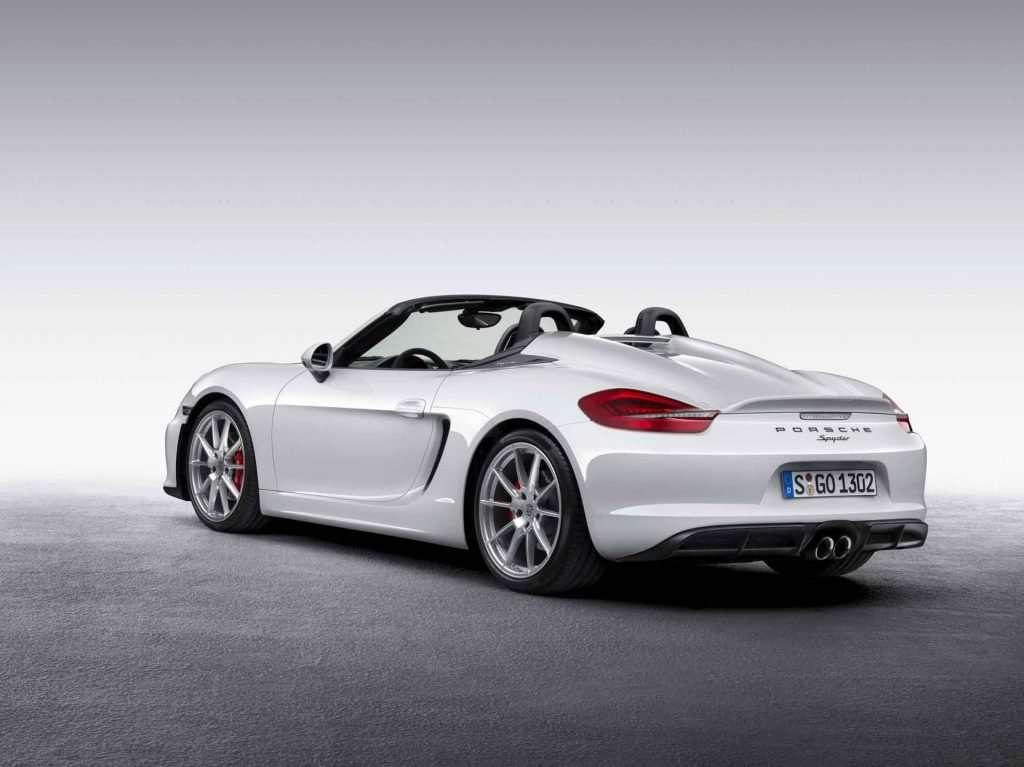 World premiere of the new Porsche Boxster Spyder