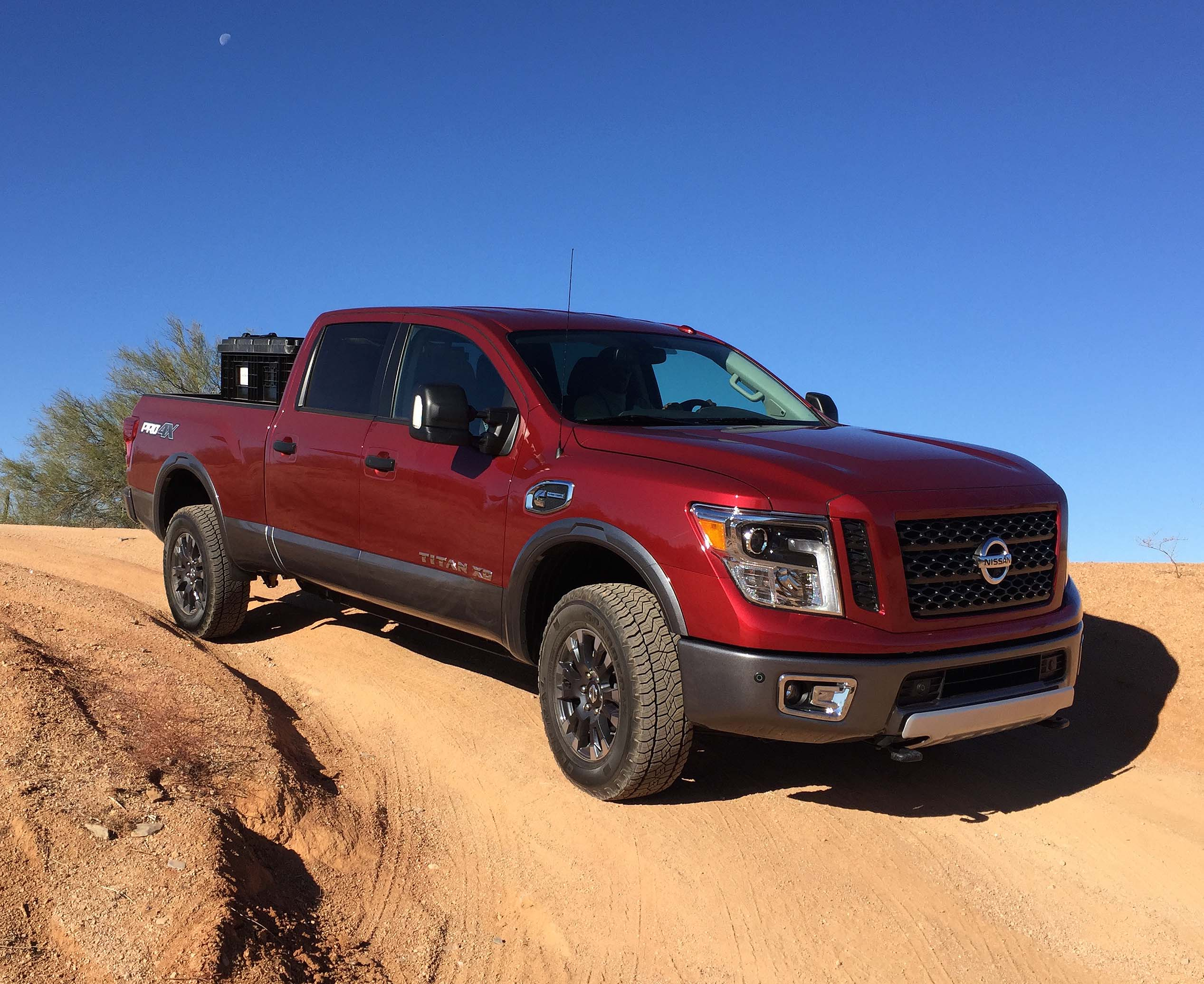 2016 Nissan Titan Xd Crew Cab Full Size Fighter Defined