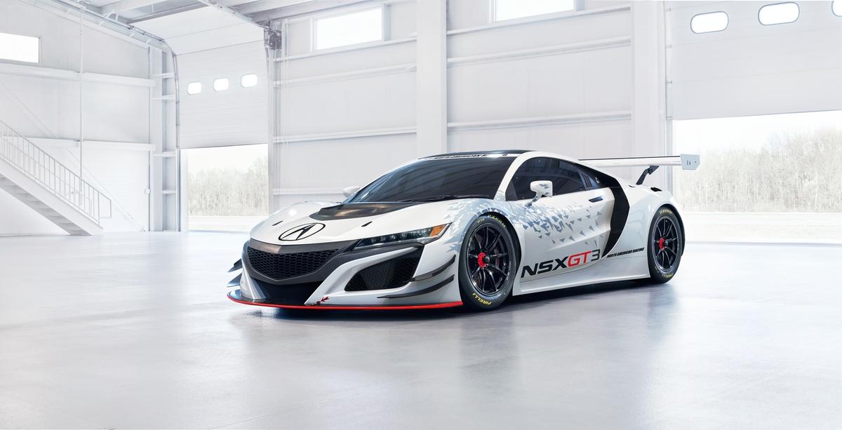 acura nsx gt3 race car | automotive rhythms