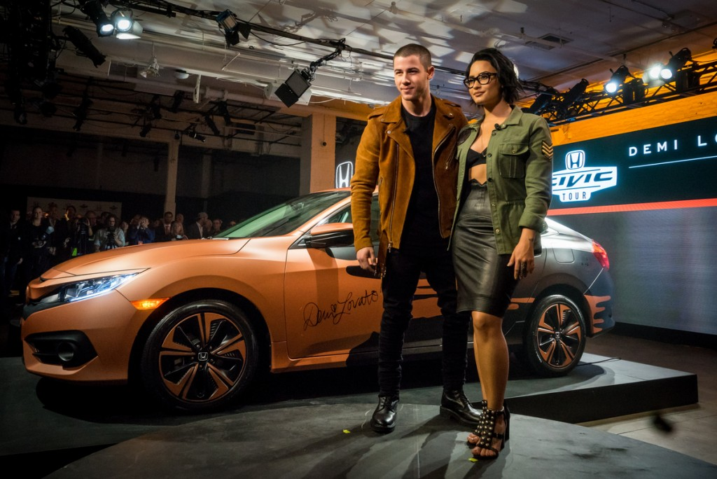 Demi Lovato and Nick Jonas to Headline 15th Anniversary Honda Civic Tour This Summer