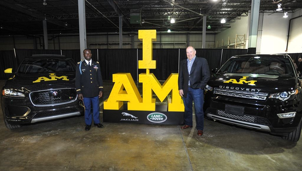 JAGUAR LAND ROVER NORTH AMERICA SPONSORS U.S. ARMED FORCES TEAM FOR INVICTUS GAMES ORLANDO 2016