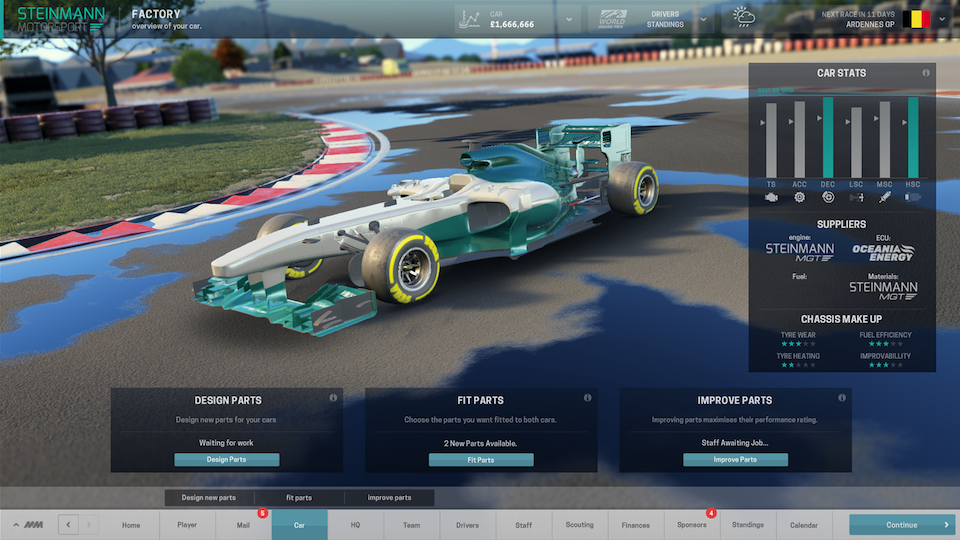 SEGA Announces New Motorsport Manager Game
