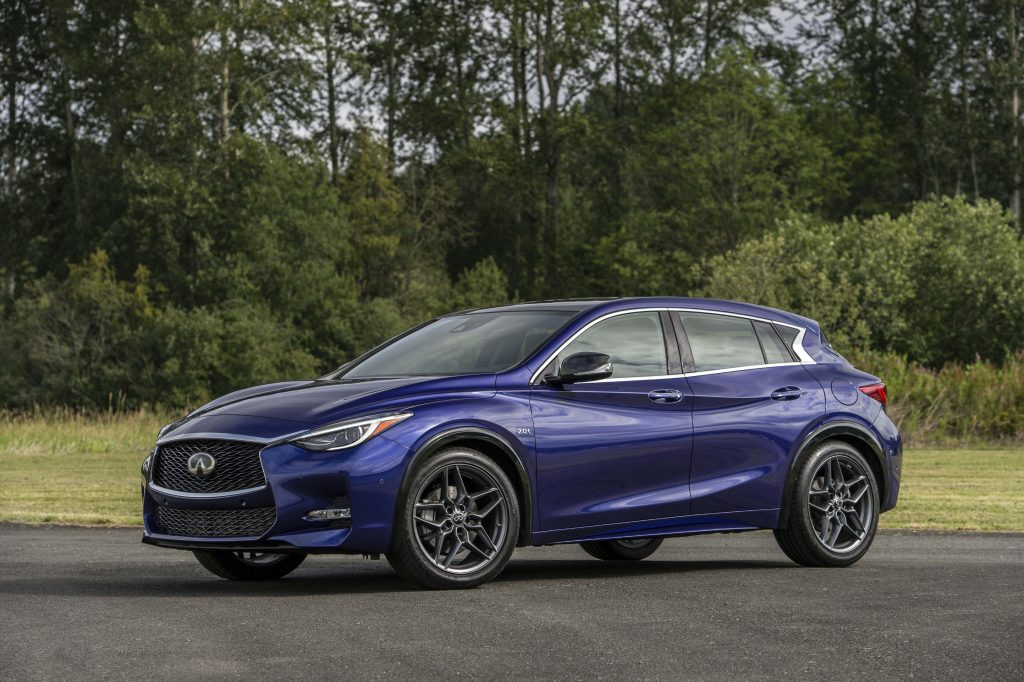 The all-new 2017 QX30, which was created for a new generation of premium buyers who appreciate category-defying design inside and out, boasts a purposeful appearance that makes a bold visual statement as part of Infiniti's premium model line-up.