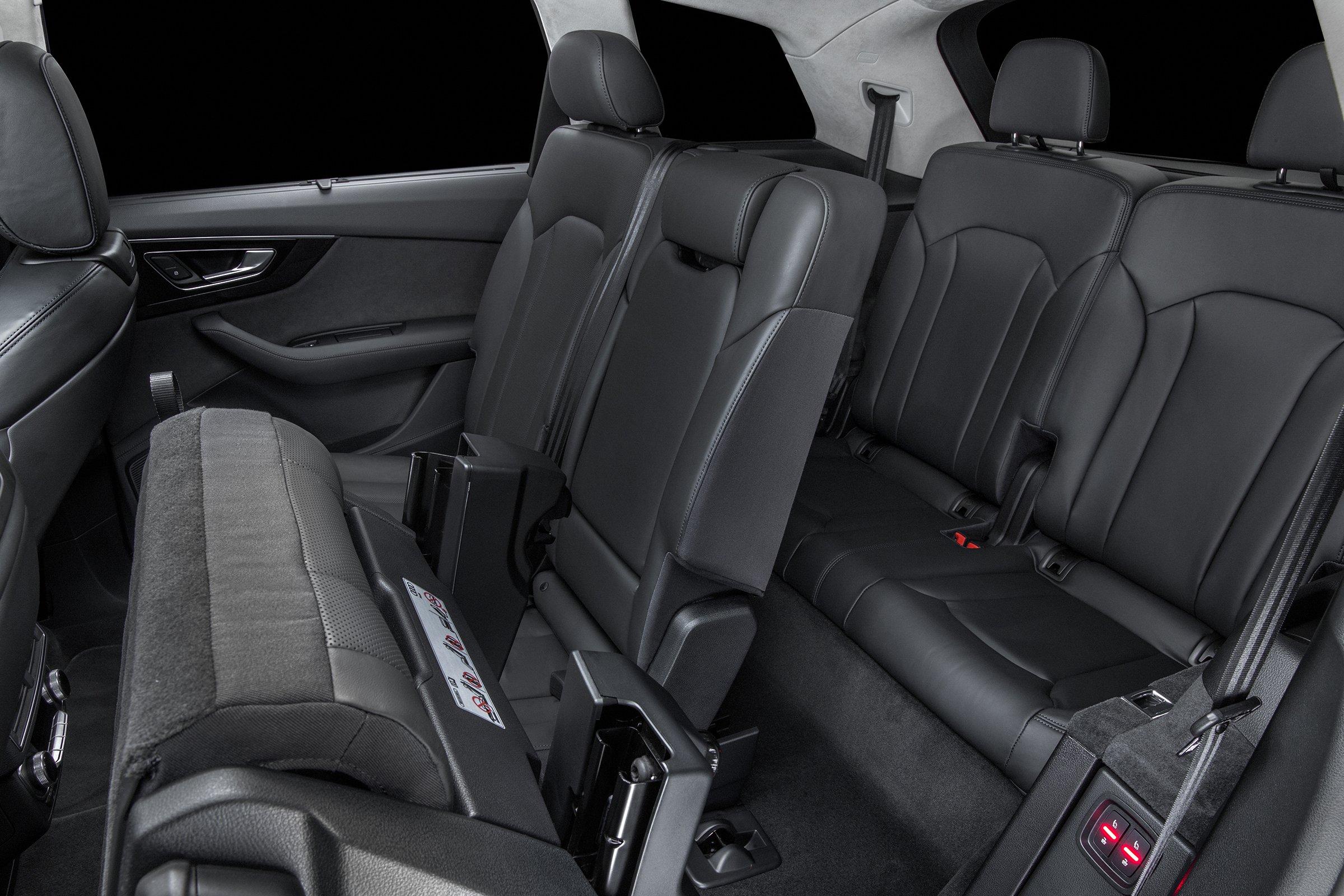 2017 Audi Q7 Interior Seats