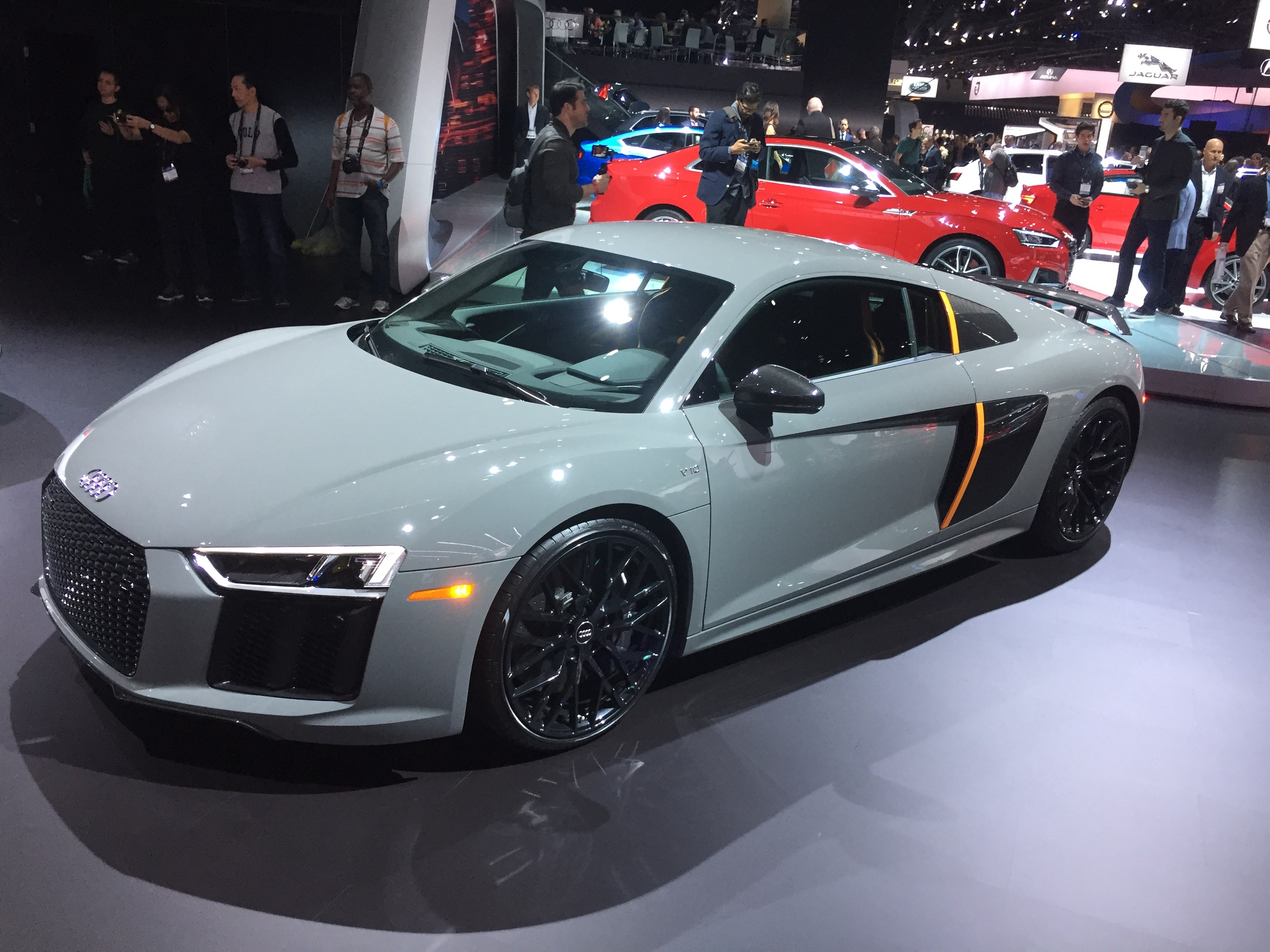 2017 Audi R8 V10 Plus Exclusive Edition With Laser Lights