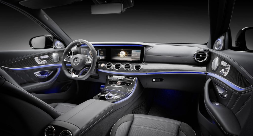 2018 Mercedes-AMG E63 S Sedan, European model shown
