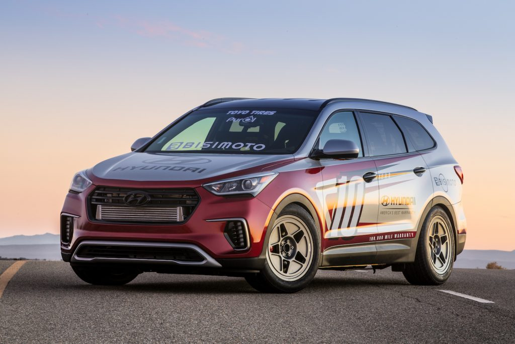 Flex Fuel Vehicles >> Bisimoto Santa-fast 1,040 Horsepower Hyundai Santa Fe for 2016 SEMA Show | AUTOMOTIVE RHYTHMS