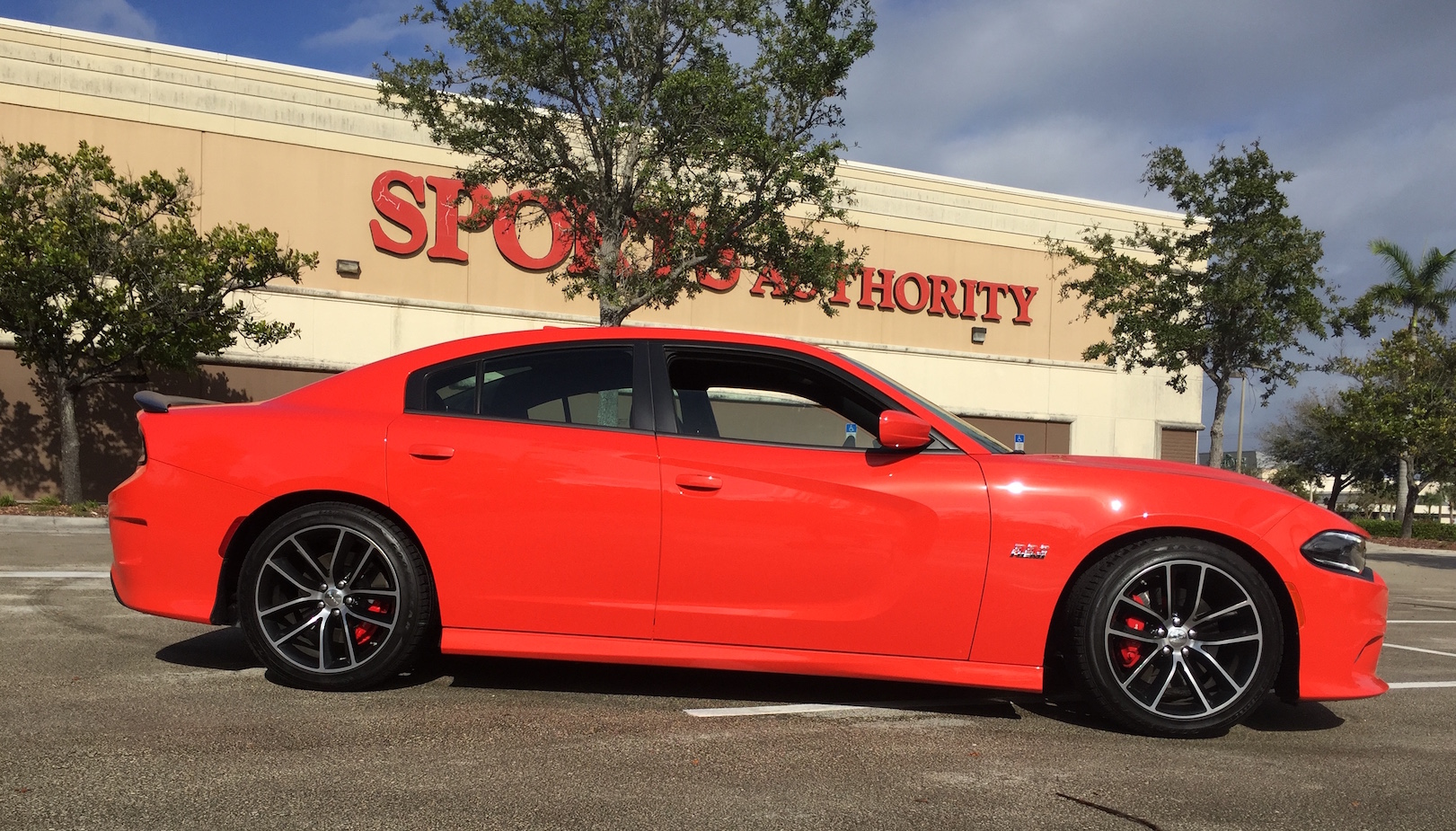 2016 Dodge Charger Rt Pack Side
