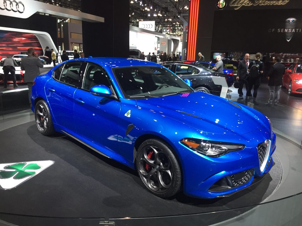 2017 alfa romeo giulia quadrifoglio automotive rhythms. Black Bedroom Furniture Sets. Home Design Ideas