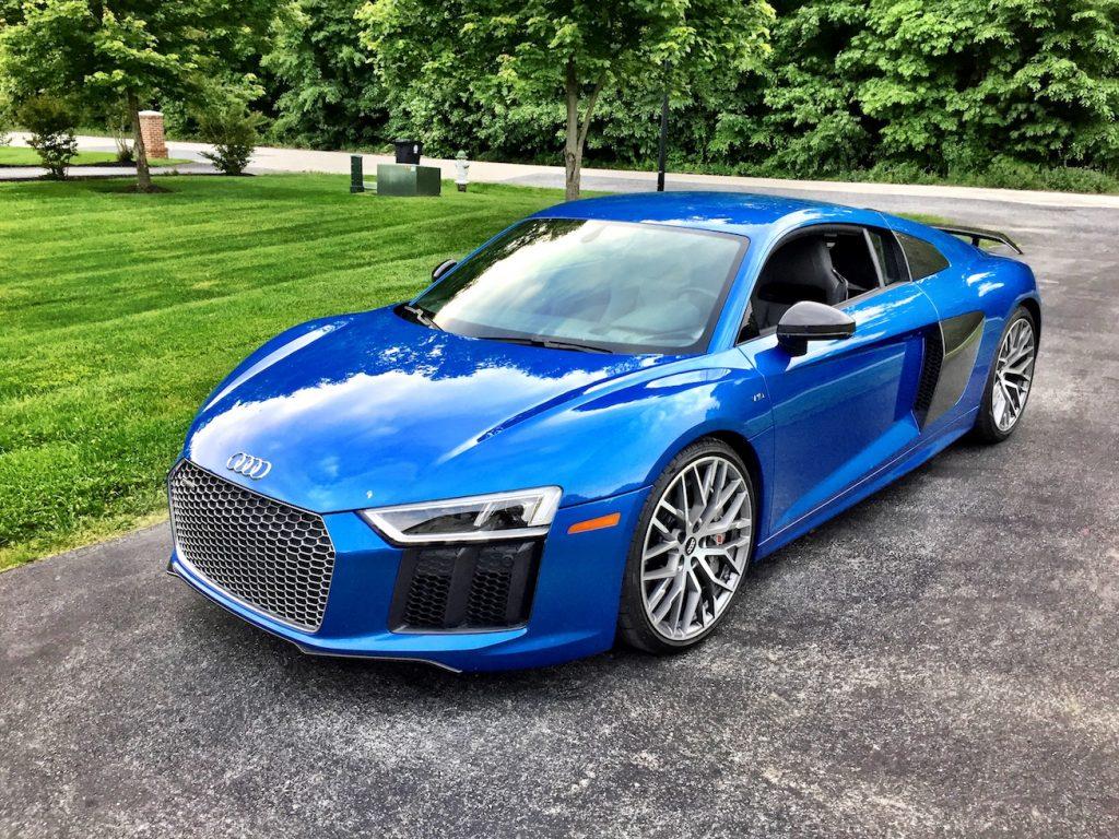 Ara Blue Crystal Effect Automotive Rhythms