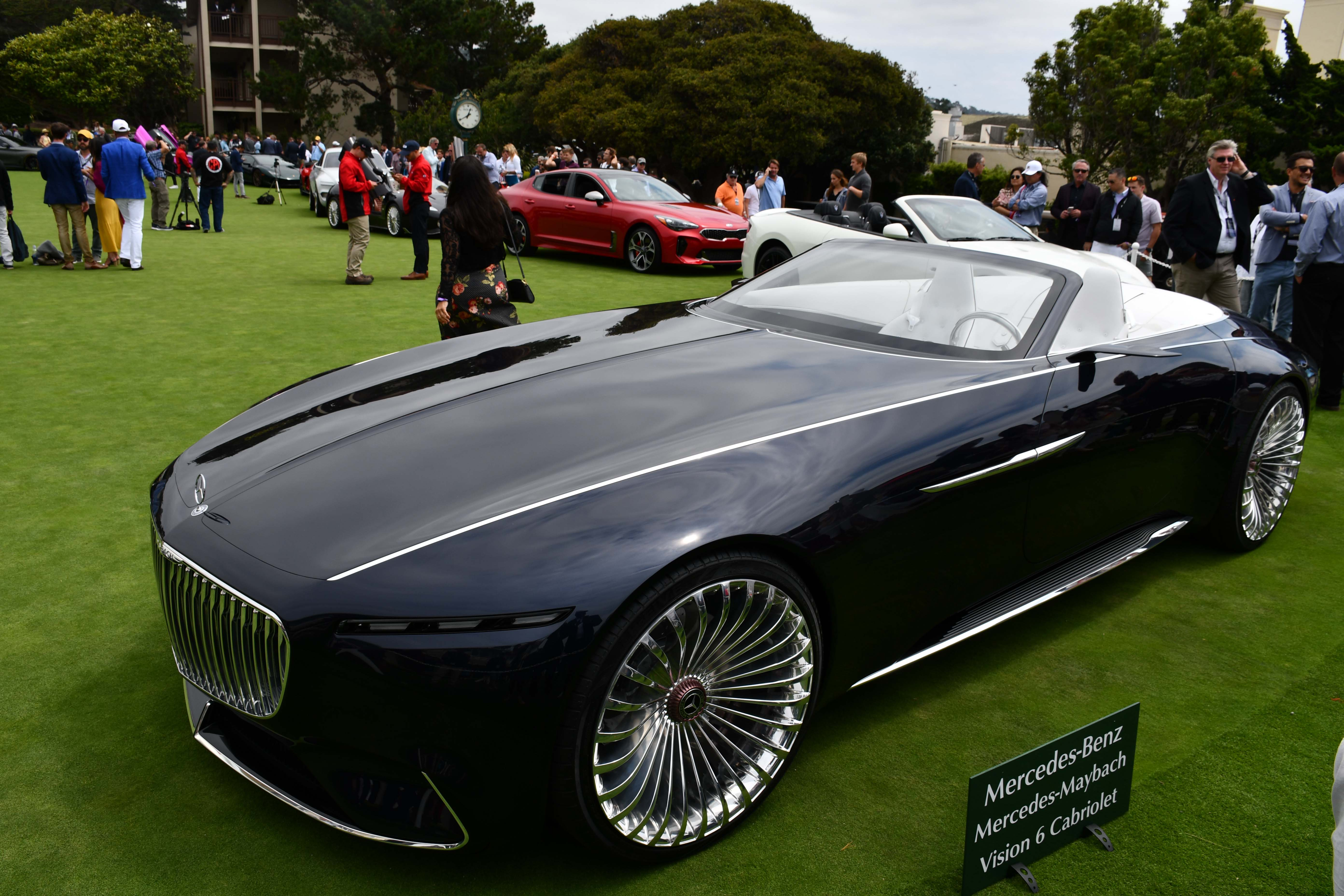 Vision Mercedes Maybach 6 Cabriolet Design Video Photo Gallery