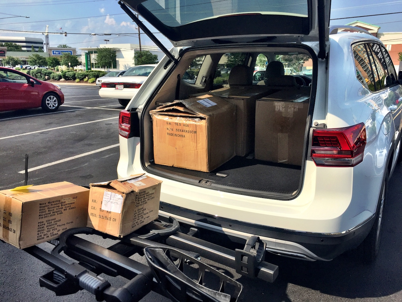 Thule T2 Pro Xt Platform Bike Rack Hitch Up And Roll Out