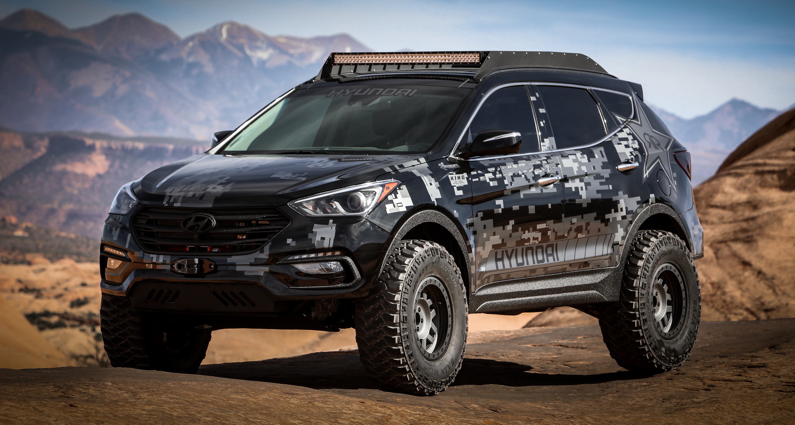 Leveraging The Outstanding Santa Fe Sport Platform And Train We Definitely Pushed Its Capabilities To New Limits Conquer Pinnacle Of