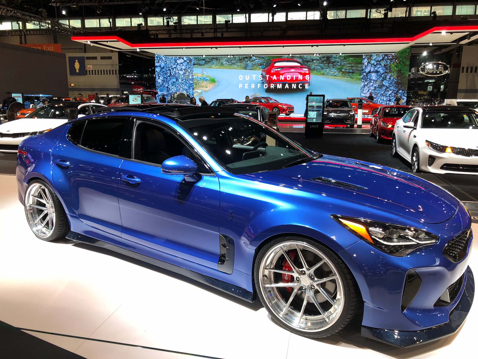 2018 Kia Stinger GT by West Coast Customs: 2018 Chicago ...