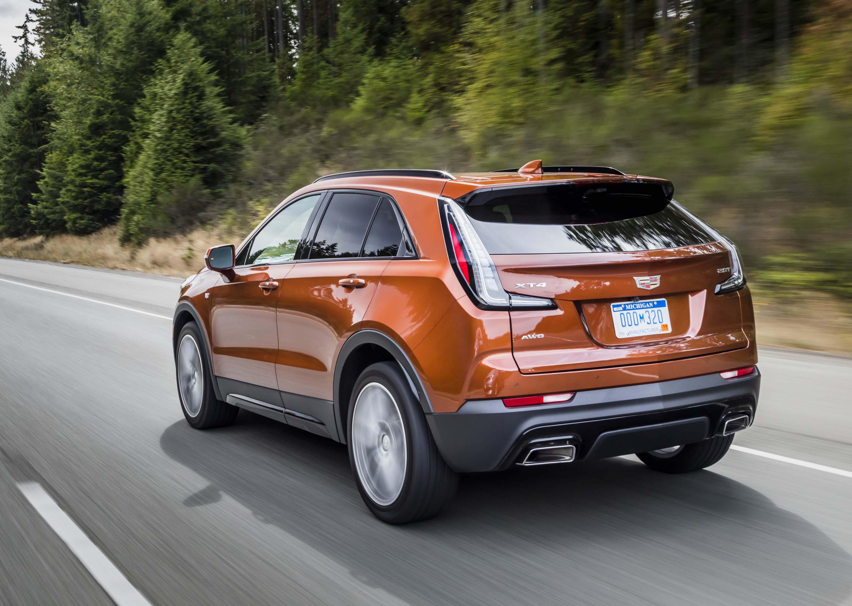 2019 Cadillac Xt4 Crossover Detroit S New Edition